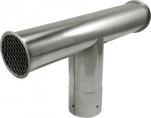 Wind tailpipes / T-tube