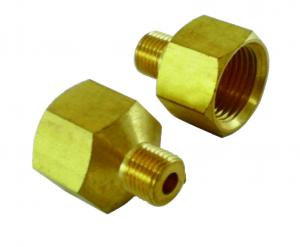 Two distribution pipe fittings