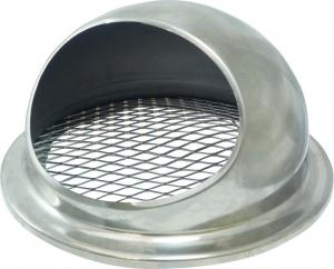 Stainless steel cyclone head - (flat / diamond mesh)