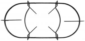 Mesa three wire oven rack / Height