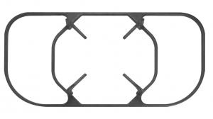 Cast iron three oven rack / Height